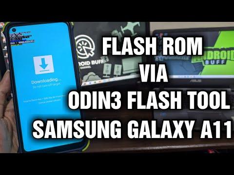 Flash Firmware SM-A115F — Samsung Galaxy A11 via Odin Flash Tool