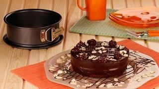 Çikolatalı Bademli Pasta - Dr. Oetker