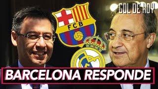 Golpe del Barcelona al Real Madrid
