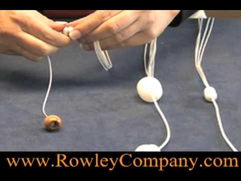 Wood Tassels And Cord Condensers Youtube