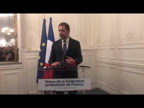 Vœux Du Protestantisme 2019 - Allocution De Monsieur Le Ministre De L'Intérieur, Christophe Castaner