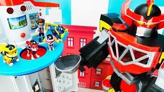 Download Paw Patrol vs Megazord बच्चों के लिए शैक्षिक खिलौना वीडियो! Mp3 and Videos