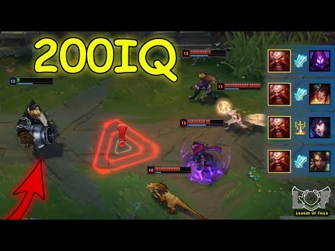 10 Minutes 200 IQ Montage - League of Legends Plays | LoL Best Moments #159