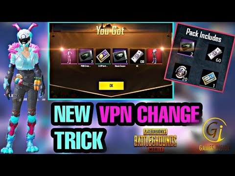 New Vietnam VPN PUBG Trick to get Free 10 Classic Coupon Scarbs 15 Vaccine  50 Silver Fragments