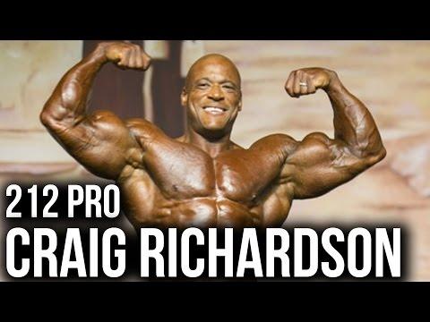 Craig Richardson: Looking to Win DEEP NY Pro 212 Class