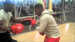 Kevin Hart gets knocked out..
