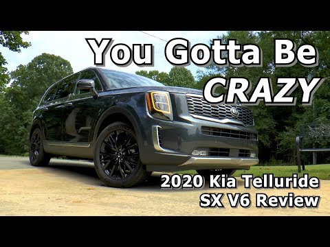 2020 Kia Telluride SX V6 AWD Review - You Gotta Be CRAZY