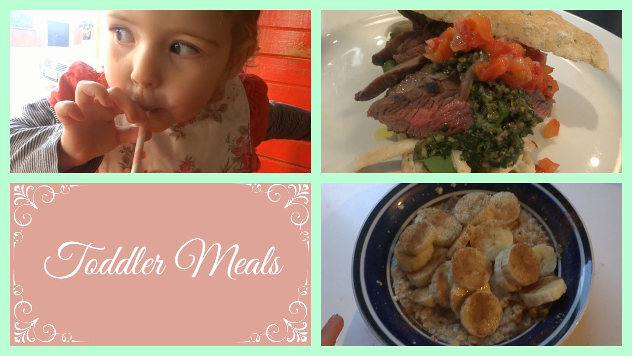 What I Feed My 2 Year Old | Toddler Meals   YouTube