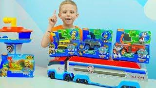 МАШИНКИ. Щенячий Патруль и Машинки для детей - Полицейский Даник и игрушки #PawPatrol