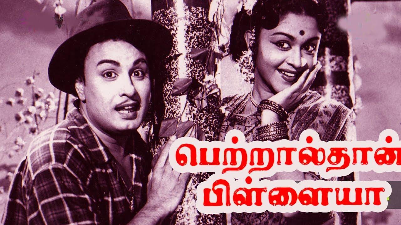 Petralthan Pillaiya | M. G. Ramachandran,Saroja Devi,M. R. Radha | Evergreen Superhit Movie HD