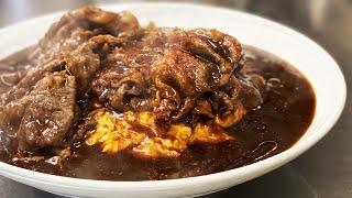 今夜もThe飯テロ【和牛あんかけオム炒飯】Mapo Fried Pork on the Rice. 【深夜は閲覧注意】