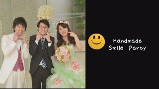 """結婚式という幸せな場所に、より一層幸せが集まるよう、""""笑顔いっぱいに..."""