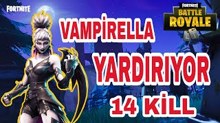 Vampirella İle İlk Azimin Zaferi - Fortnite Battle Royale turkce ps4