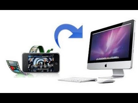 how to find videos on mac from iphone