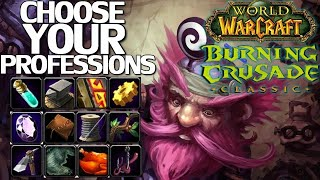 WoW Burning Crusade Classic Profession Picking Guide