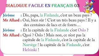Dialogue facile en français 3