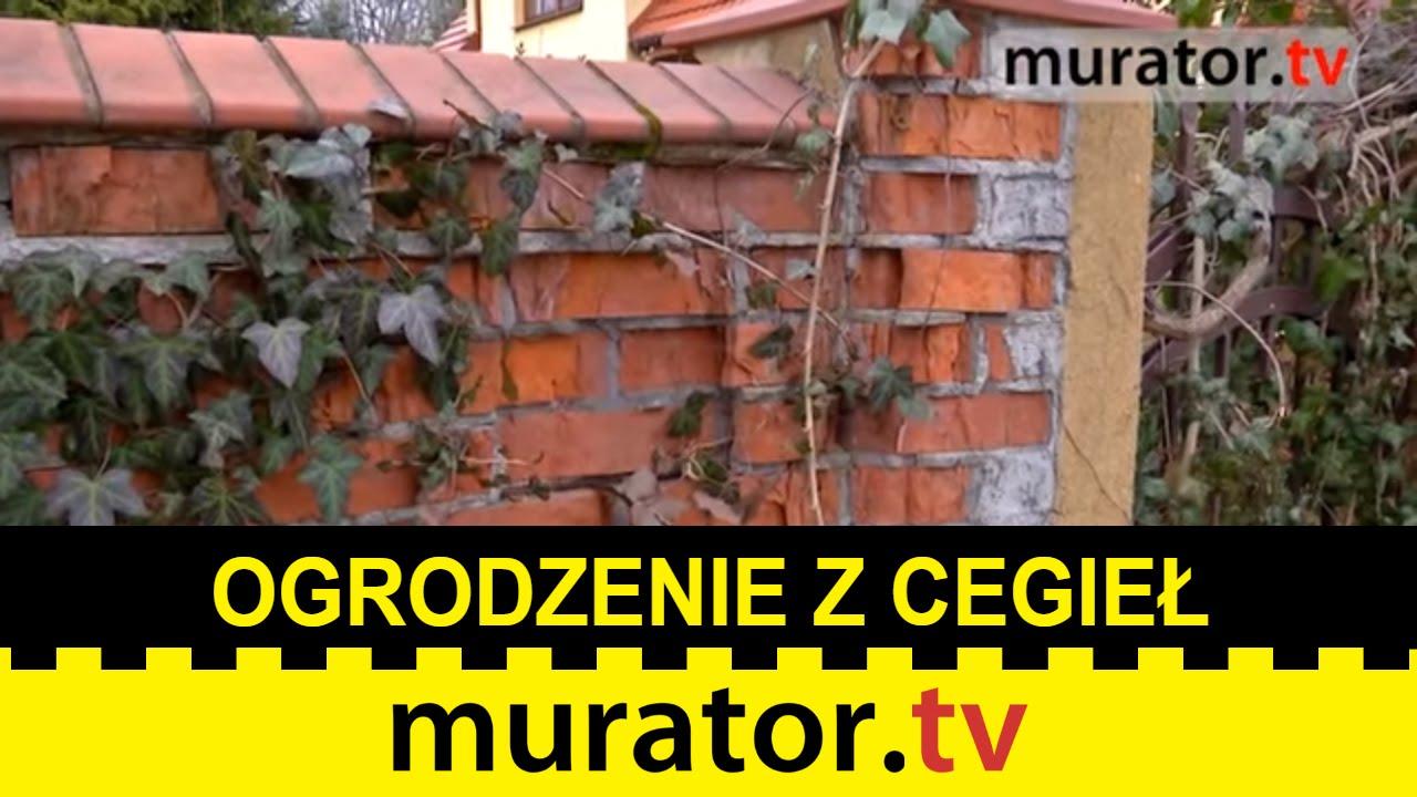 Bardzo dobra Rozsypujące się ogrodzenie z cegieł - Pogotowie budowlane Muratora PQ74