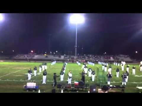 Manteca High School Band performing Party Rock Anthem