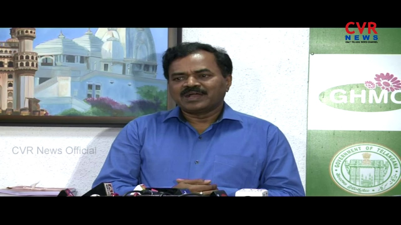 GHMC Commissioner Dhana Kishore Press Meet Over Election Preparation In  Telangana l CVR NEWS