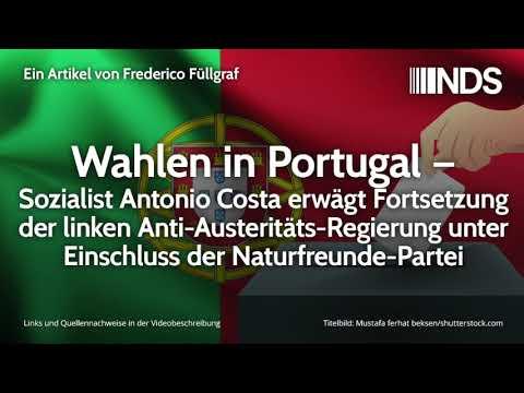Wahlen in Portugal – Antonio Costa erwägt Fortsetzung der linken Anti-Austeritäts-Regierung
