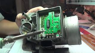 Nissan Micra K11 throttle body resolder mass air flow error repair