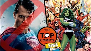 Henry Cavill ¿Ya no será Superman? l Futuras películas de Marvel Studios