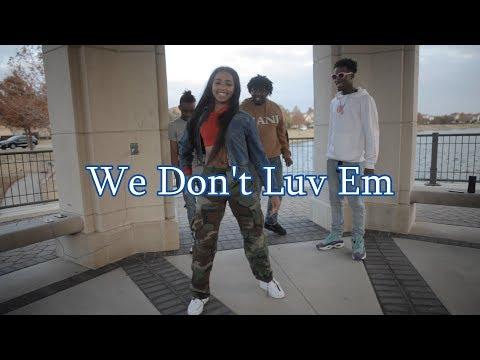 HoodRich Pablo Juan - We Don't Luv Em (Woah Dance Video) shot by @Jmoney1041