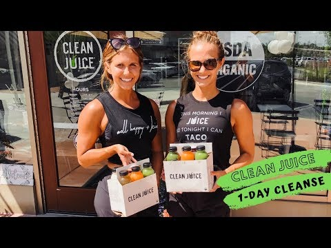 CLEAN JUICE ONE DAY CLEANSE | ORGANIC COLD PRESSED JUICERY
