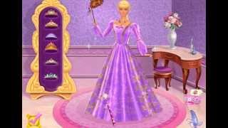 Игра Барби / Barbie™ Принцесса Рапунцель. Корона принца и  королевский бал .