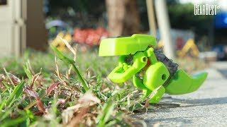 CUTE SUNLIGHT 2125 T4 4 Solar Dinosaur Robot DIY Kit - GearBestكوم