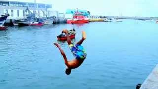 Crazy Guys Jumping Into Water In Morocco VOL.2