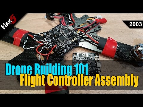 Soldering the Flight Controller - Drone Building 101 - Hak5 2003