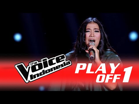 "Maria Stella ""Turning Tables"" I PlayOff 1 I The Voice Indonesia 2016"