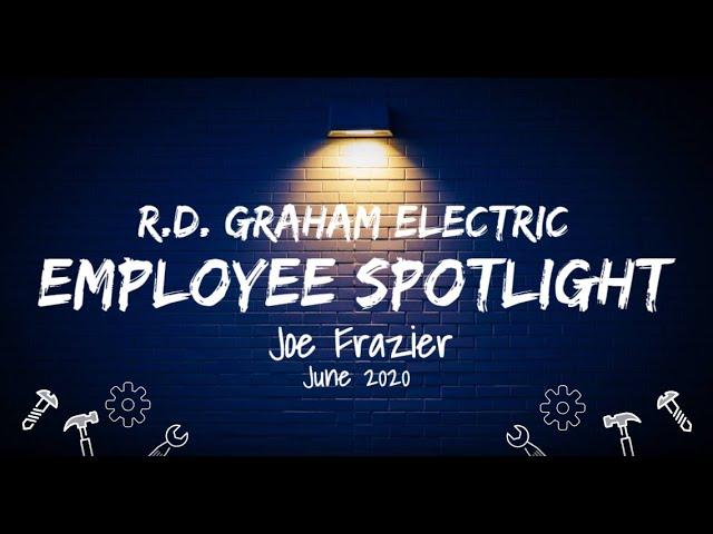 RDGE Employee Spotlight - Joe Frazier