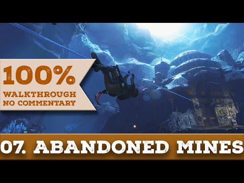 Rise of the Tomb Raider Walkthrough [1440p] (100% Completion, Survivor) 07 ABANDONED MINES