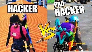 1 PRO Hacker VS 2 LEGEND Hackers PUBG Mobile
