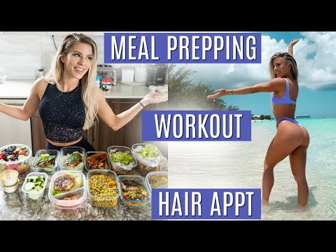DAY IN MY LIFE   Meal prepping, Workout, Hair appt, & more!