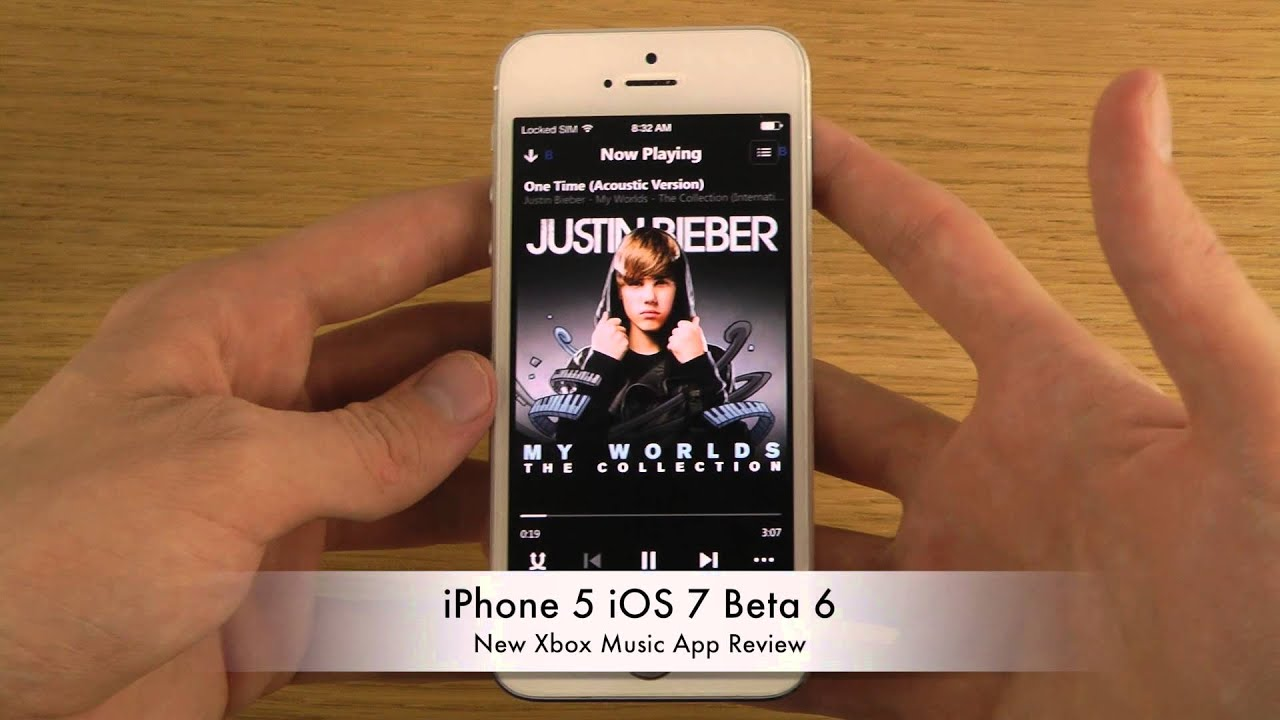 iphone 5 ios 7 beta 6 new xbox music app review youtube. Black Bedroom Furniture Sets. Home Design Ideas