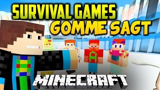 Minecraft: SURVIVAL GAMES GOMME SAGT - Spielmodus in Minecraft l GommeHD