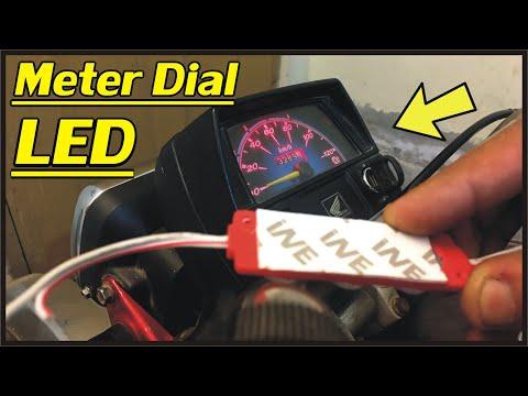 Meter Dial LED Complete Installation / Honda CD 70 Bike Meter Dial LED In Urdu |Study Of Bikes|