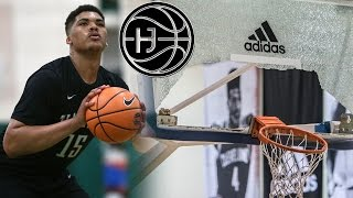 Isaiah Stokes BREAKS The BackBoard! Most SKILLED Big Man in the Country! Junior Year Mix | Hoop Journey