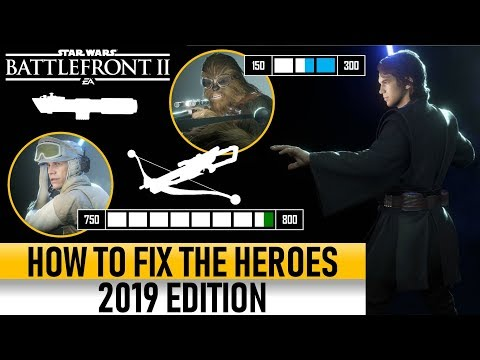 HOW TO FIX THE HEROES 2019! Star Wars Battlefront 2 thumbnail
