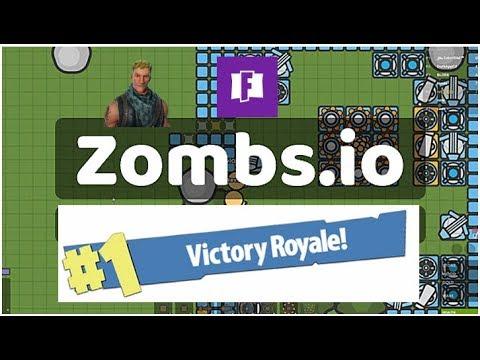 #1 ZOMBIES ROYALE!?!?! - Zombsroyale.io Gameplay - New IO ...