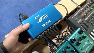 Strymon at NAMM 2016 - A look at the ZUMA !!!!!!