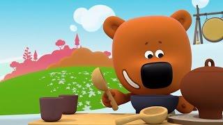 Ми-ми-мишки - Все серии о полезной и вредной еде 🍎🍔🍒🍗🍬   Сборник мультиков для детей