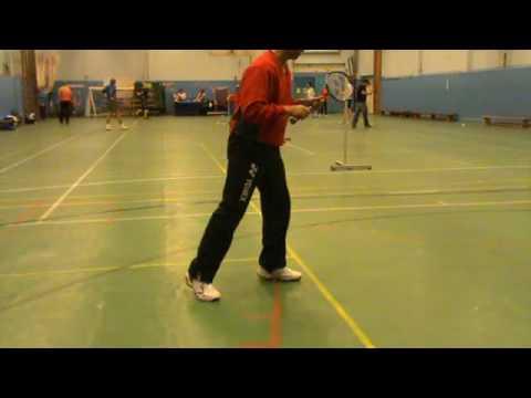 Badminton Coaching - Moving Backwards In Balance by Paul Stewart