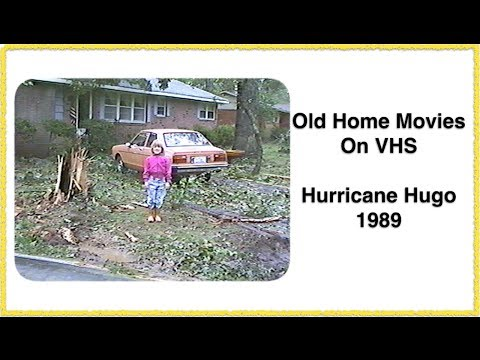 Footage Found On VHS Tapes ~ Hurricane Hugo 1989