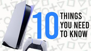 PS5: 10 Things You NEED TO KNOW