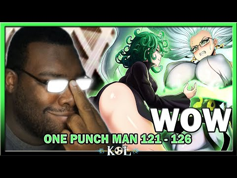 Tatsumkai Is Dangerous... VERY DANGEROUS! | One Punch Man Chapter 121 - 126 LIVE REACTION - ワンパンマン