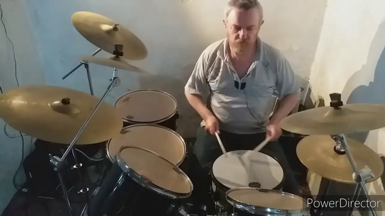 Yellow River - Christie drum cover (drumless karaoke track)